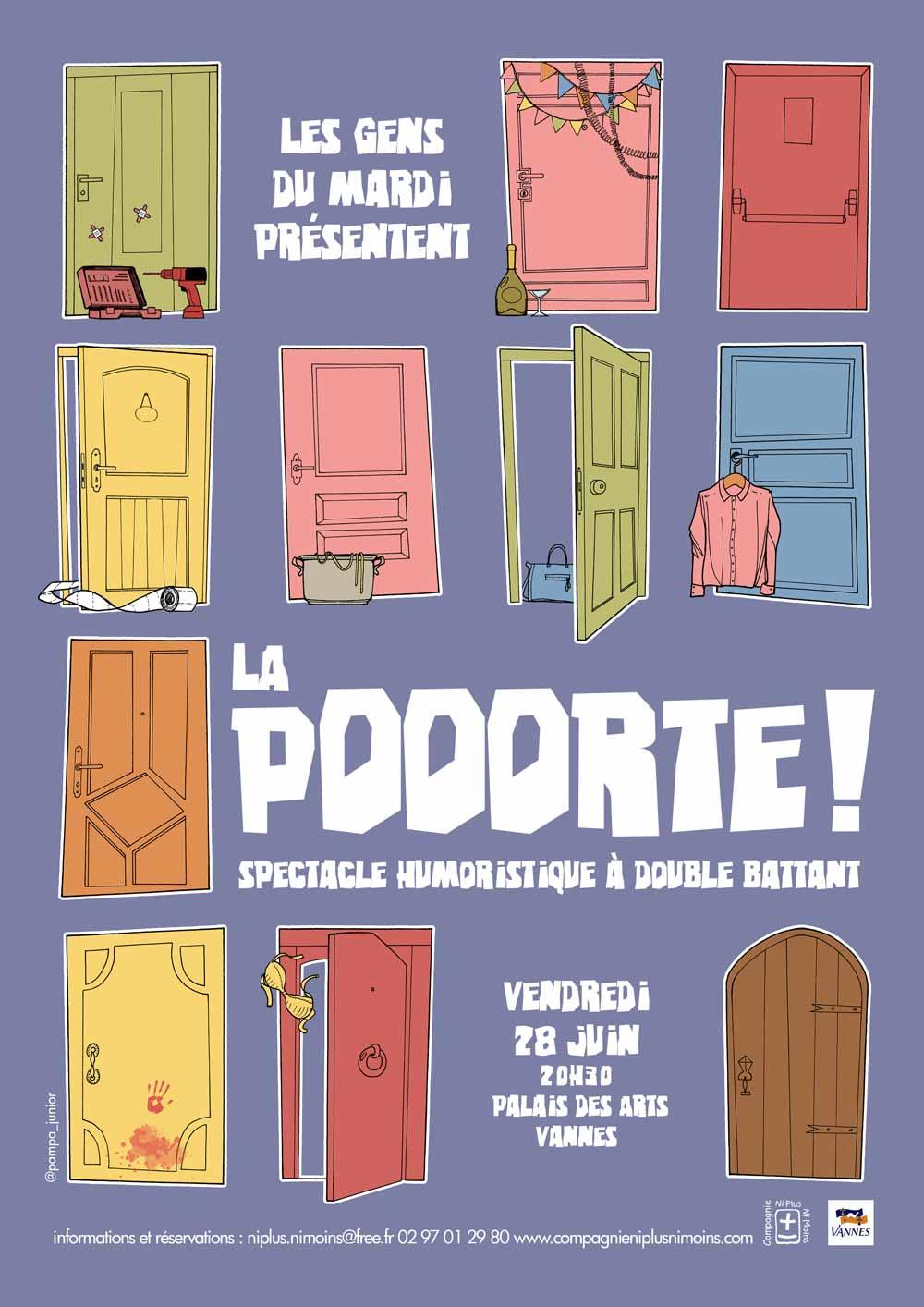 Création collective de l'atelier des adultes avancés en 2019 au Théâtre Anne de Bretagne à Vannes